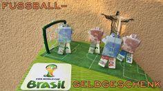 soccer themed money gift (fifa 2014 brasil)