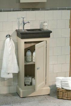 Landelijk badkamer meubel van echt hout in taupe kleur van heck kelly 39 s bedroom and master - Taupe kleuren schilderij ...