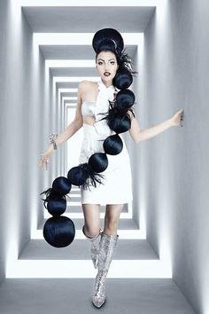 a string of balls
