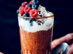 Acai Bowl, Pudding, Trendy, Breakfast, Desserts, Food, Flan, Postres, Puddings