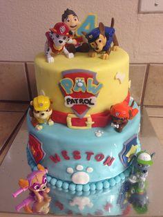 Paw Patrol Birthday Cake :)