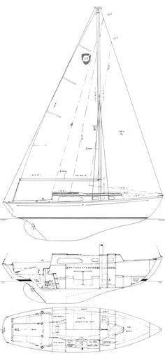 COLUMBIA 29 MKII    Hull Type:Long KeelRig Type:Masthead Sloop LOA:28.50' / 8.69mLWL:22.50' / 6.86m Beam:8.00' / 2.44mListed SA:387 ft2 / 35.95 m2 Draft (max.)4.00' / 1.22mDraft (min.) Disp.8400 lbs./ 3810 kgs.Ballast:4100 lbs. / 1860 kgs. SA/Disp.:15.03Bal./Disp.:48.82%Disp./Len.:329.22 Designer:Sparkman & Stephens Builder:Columbia Yachts (USA) Construct.:FGBal. type: First Built:1965Last Built:1969# Built:304