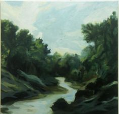 The River / Elven River, Painting, Art, Art Background, Painting Art, Kunst, Paintings, Performing Arts, Painted Canvas