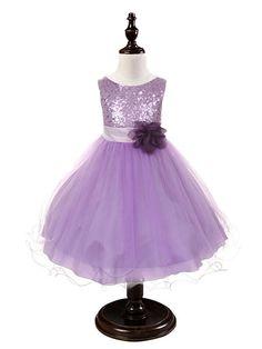 Purple Sequined Bodice Dress w/mesh overlay                                                                                                                                                                                 Plus