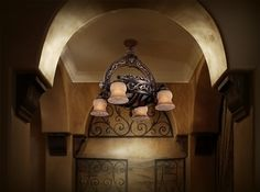 Gothic Ceiling Fan Enclosure Wrought Iron Gothic In