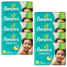 Pampers Baby Dry Just $6.97 At Walmart!