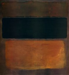 Number 1963 by Mark Rothko - Canvas, Wood, Acrylic, Aluminium - ArtToCanvas Rothko Art, Mark Rothko, Abstract Painters, Abstract Art, Religious Experience, Number 10, Brown Shades, Mottos, Creating A Brand