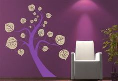 Tree 2 Colours Wall Sticker - style for the walls