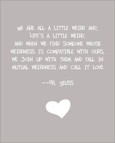 """""""Weird"""" Dr. Seuss quote"""