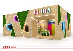 EGIDA exhibition stand. Furniture 2017