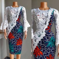 The African Ankara dress styles are in arguably the most popular dress styles trending in the world of fashion. Discover latest african dress styles in 2019 Nigerian Dress Styles, Short African Dresses, African Lace Styles, Ankara Short Gown Styles, African Print Dresses, Latest African Styles, Latest Lace Styles, Latest Ankara Short Gown, Ankara Styles For Women