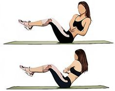 The 7 Workout To Burn Belly Pooch - Russian Twists