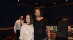 Davide Lucchini insieme a Paola Cevenini della Fonoprint