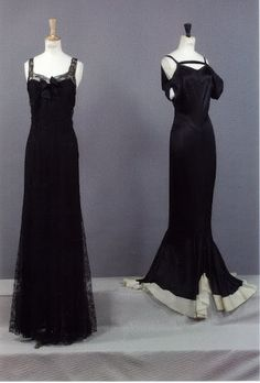 Evening Dresses, Chanel, ca. Vintage Glamour, Chanel Vintage, 1930s Fashion, Chanel Fashion, Vintage Fashion, Fashion Women, Vintage Outfits, Vintage Dresses, Coco Chanel
