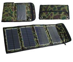 2 Stück   Faltbarer Solar-Panel-Charger 7 Watt im Etui USB Anschluß !  Herzlich willkommen in meinem Shop, hier kaufen Sie sicher ein nach deutschem Recht ! Saubere Öko-Energie gratis von der Sonne für ihr Handy, Smartphone, MP4 Player, Digicam, GPS !
