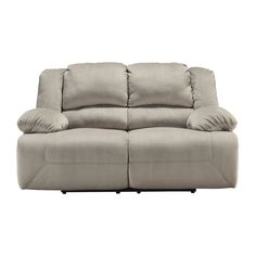 Power Type Overall Product Weight: 208 lb. Other Dimensions Tolette Reclining Loveseat by Signature Design by Ashley Overall: 41'' H x 73'' W x 41'' D Seat: 43'' W x 22'' D Arms: 25'' H Fully Reclined: 67'' D $1200 with power