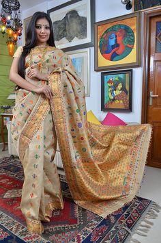 Sampa Das - Revivalist of the Golden Muga silk of Assam
