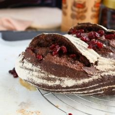 Chocolate and Cranberry Bread  3-5-2015