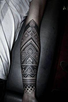 Henna inspired half sleeve.