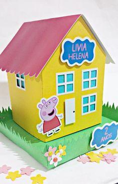 Bolo Da Peppa Pig, Peppa Pig Teddy, Cumple Peppa Pig, Peppa Pig Birthday Cake, 2nd Birthday Photos, Third Birthday, Pepper Pig Party Ideas, Peppa Pig Painting, Peppa Pig Colouring