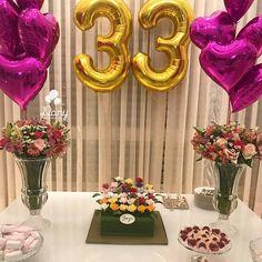 53 Ideas Birthday Gifts Diy For 2019 Birthday Goals, 33rd Birthday, Mother Birthday, 30th Birthday Parties, Birthday Fun, Birthday Celebration, Birthday Ideas, Surprise Birthday, Birthday Table Decorations