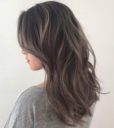 Ash Brown Hair Color More