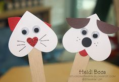 valentines.  tons of cute papercrafts on this blog