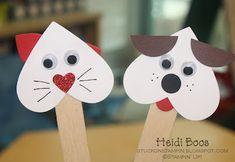 valentine's day crafts for kids Valentine's Day Crafts For Kids, Valentine Crafts For Kids, Valentines Day Party, Toddler Crafts, Projects For Kids, Holiday Crafts, Art For Kids, Valentine Dog, Printable Valentine