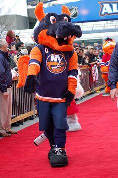 Sparky the Dragon - New York Islanders' mascot