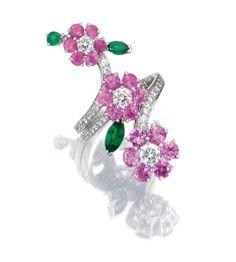Gem-set & Diamond Ring - Van Cleef & Arpels