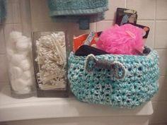 Crocheted Stash Buster Basket   FaveCrafts.com