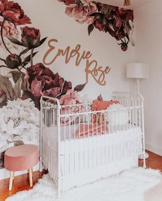 First and Middle name sign / crib name sign laser cut name sign baby name sign backdrop sign birthday name sign nursery room decor Baby room Nursery Signs, Nursery Room Decor, Girl Nursery, Girl Room, Nursery Ideas, Nursery Office, Bedroom Girls, Child Room, Decoration Design