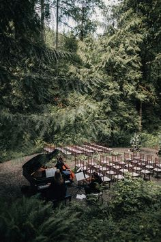 Outdoor Wedding Ceremonies Dramatic Forest Wedding in Oregon Photographed by Christy Cassano-Meyers Snippet Outside Wedding, Wedding In The Woods, Forest Wedding, Woodland Wedding, Wedding In Nature, Outdoor Winter Wedding, Wedding Ceremony Decorations, Wedding Themes, Wedding Tips