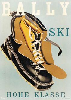 Bally ski, Hohe klasse by Muyr Theo / 1954