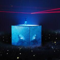 Kanye West Watch the Throne Tour -Es Devlin