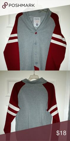 Varsity style sweater Great condition Varsity style sweater Sweaters Cardigan