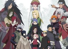 Naruto - the genius, the woman, the black sheep