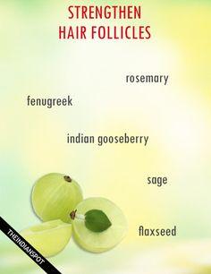 How To Strengthen Hair Follicles Naturally