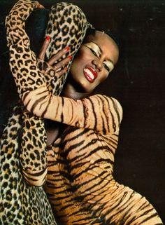 Grace Jones photo Bart Hess 1978.