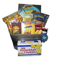 Everything you need for Chanukah...Chanukah cookies, candles and chocolates. Yum!