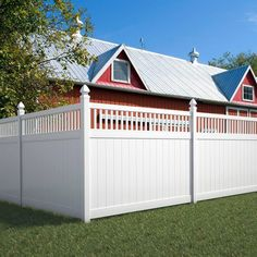 Terrific gallery of 75 fence designs and ideas for the backyard and front yard. Includes wood fences, wrought iron, white picket fences, chain link and more.