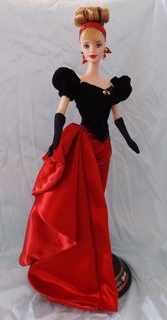 Winter Splendor Barbie®   Avon Exclusive   1998