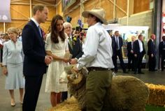 Prince William and Kate to the Royal Easter Show in Sydney, Australia-2014easter节http://nownews5.blogspot.com.au/2014/04/GoodFriday.html#.U1C_wvmSyMQ