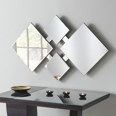 View Diamond Art Deco Glass Mirror product from Soraya Interiors UK, See more products like this and more wall mirror categories Art Deco Mirror, Art Deco Glass, Frameless Mirror, Beveled Mirror, Mirror Mirror, Funky Mirrors, Wall Mirrors, Modern Mirrors, Glass Mirrors