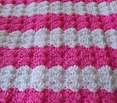 Easiest Baby Blanket Pattern Ever | AllFreeCrochet.com