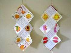 HANGING POETRY BOOKS    I've been preparing all week for a classroom bookmaking project that starts next week at the Hilltown Charter Schoo...