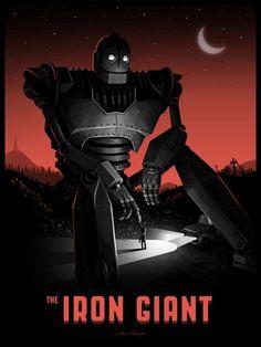 The Iron Giant - Mike Mitchell