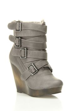 Magic Spell Wedge Booties