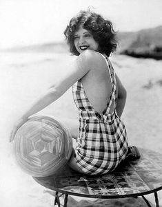 Clara Bow was very athletic as a teenager and gravitated towards playing sports and hanging out with guys. She won several athletic awards and became an athletic instructor. (Ayana)