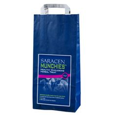 Saracen Munchies 5kg Saracen Munchies are deliciously tasty healthy herbal treats suitable for all horses ponies The munchies have the great taste of natural pastures & a wide range of pure herbs & grasses your horse will do anything for.